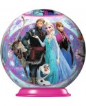 Puzzle glob Ravensburger - Frozen, 54 piese (11913)
