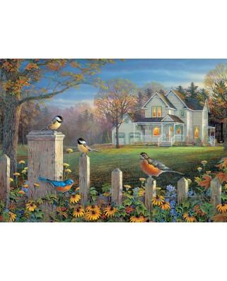 Puzzle Cobble Hill - Evening Birds, 1.000 piese (Cobble-Hill-80187)