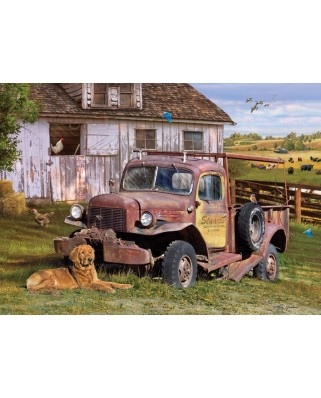Puzzle Cobble Hill - Summer Truck, 1000 piese (Cobble-Hill-80199)