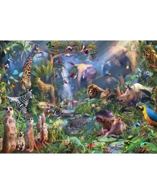 Puzzle Cobble Hill - Into the Jungle, 1000 piese (Cobble-Hill-80210)