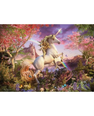Puzzle Cobble Hill - Unicorn, 1.000 piese (Cobble-Hill-80232)