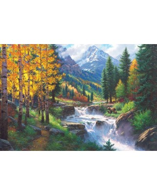 Puzzle Cobble Hill - Rocky Mountain High, 2.000 piese (Cobble-Hill-89002)