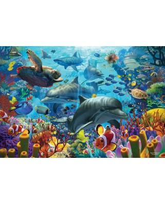 Puzzle Cobble Hill - Coral Sea, 2.000 piese (Cobble-Hill-89005)