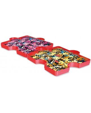 Cutii pentru sortat puzzle Clementoni, 6 buc