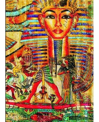 Puzzle Gold Puzzle - Antique Egyptian Collage, 500 piese (Gold-Puzzle-60171)