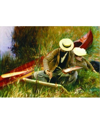 Puzzle Gold Puzzle - John Singer Sargent: Outdoor Study, 1.000 piese (Gold-Puzzle-60416)