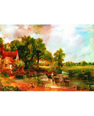 Puzzle Gold Puzzle - John Constable: The Hay Wain, 1.000 piese (Gold-Puzzle-60492)