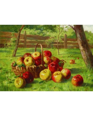 Puzzle Gold Puzzle - Karl Vikas: Apple Harvest, 500 piese (Gold-Puzzle-60768)