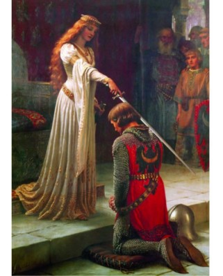 Puzzle Gold Puzzle - Leighton Edmund Blair: The Accolade, 1.000 piese (Gold-Puzzle-60959)