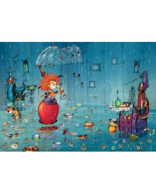 Puzzle Grafika - Francois Ruyer: Wet Witch, 1.000 piese (02970)