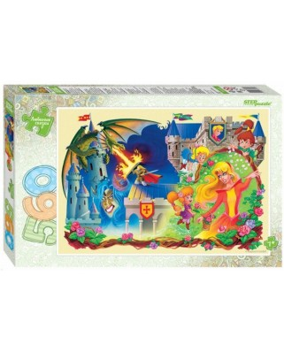 Puzzle Step - The Sleeping Beauty, 560 piese (78101)