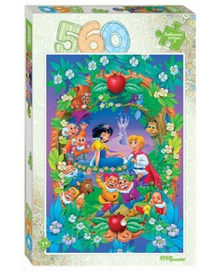 Puzzle Step - Snow White, 560 piese (78102)