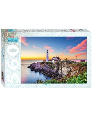 Puzzle Step - Portland Head Lighthouse, 560 piese (78104)