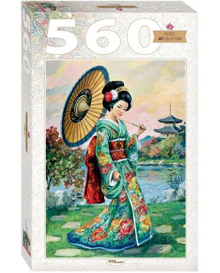 Puzzle Step - Japanese Woman, 560 piese (78109)