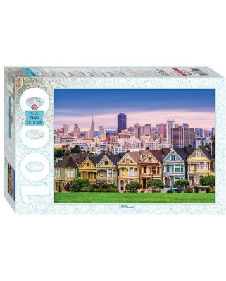 Puzzle Step - The Painted Ladies of San Francisco, 1.000 piese (79141)