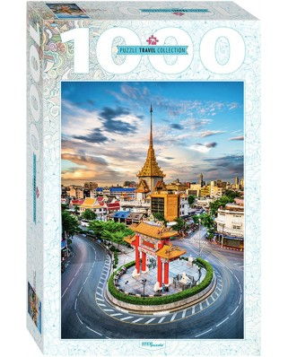 Puzzle Step - Chinatown in Bangkok, Thailand, 1.000 piese (79148)
