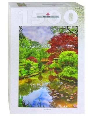 Puzzle Step - Japanese Garden in Den Haag, 1500 piese (83064)
