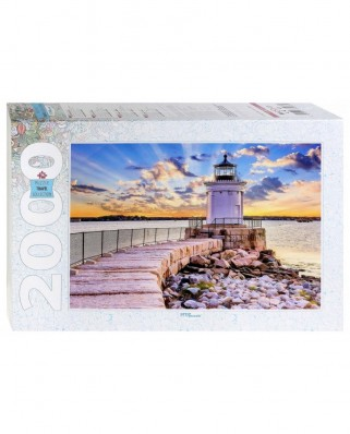 Puzzle Step - South Portland, USA, 2.000 piese (84037)