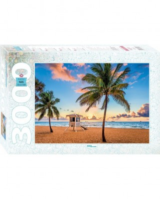 Puzzle Step - Fort Lauderdale, USA, 3.000 piese (85018)