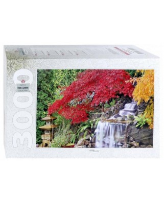 Puzzle Step - Waterfall in the Japanese Garden, 3.000 piese (85019)