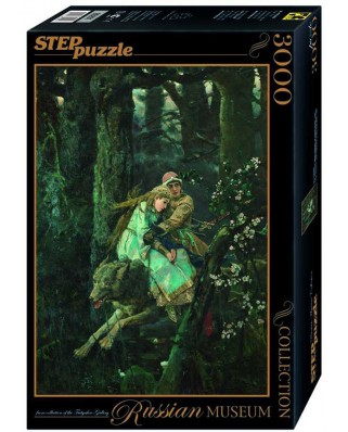 Puzzle Step - Ivan Tsarevici: Prince Ivan on the Grey Wolf, 3.000 piese (85201)