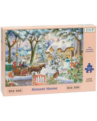 Puzzle The House of Puzzles - Almost Home, 500 piese XXL (The-House-of-Puzzles-4876)
