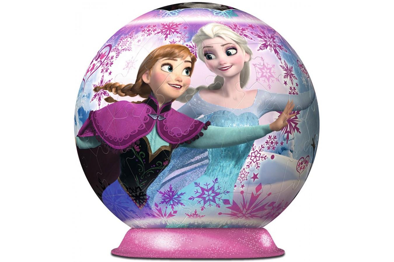 Puzzle glob Ravensburger - Frozen, 72 piese (12173)