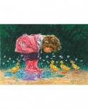 Puzzle SunsOut - Just Ducky, 500 piese (Sunsout-11208)