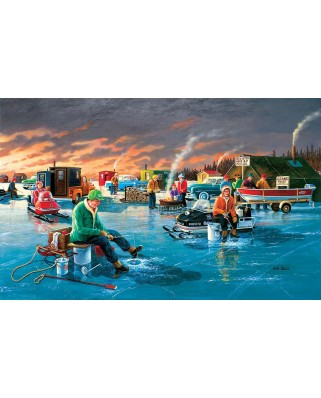 Puzzle SunsOut - Fishing Contest, 300 piese XXL (Sunsout-39565)