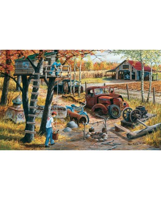 Puzzle SunsOut - Base Camp, 300 piese XXL (Sunsout-39601)