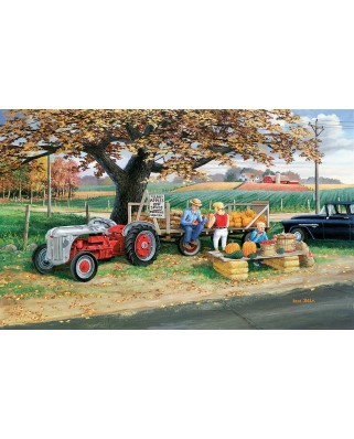 Puzzle SunsOut - Roadside Harvest, 300 piese XXL (Sunsout-39613)