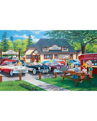 Puzzle SunsOut - Life in the Past Lane, 300 piese XXL (Sunsout-39617)