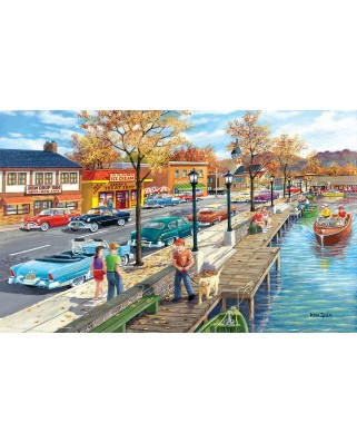 Puzzle SunsOut - Shoreview Drive, 300 piese XXL (Sunsout-39780)