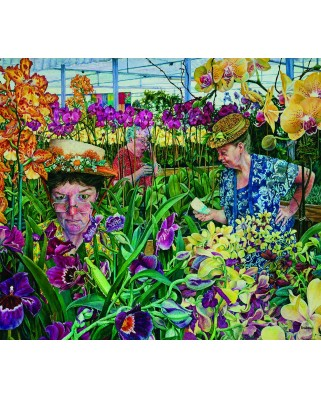 Puzzle SunsOut - Orchid Society, 300 piese (Sunsout-44232)