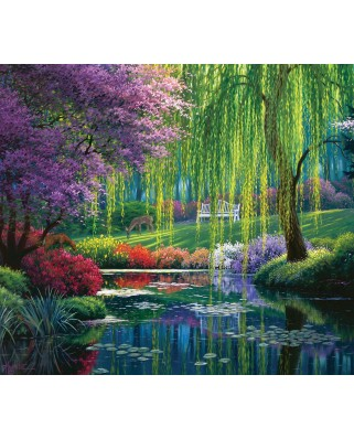 Puzzle SunsOut - Willow Pond, 300 piese (Sunsout-48516)