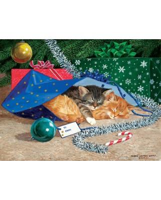 Puzzle SunsOut - Nap Sack Cat, 500 piese (Sunsout-51507)