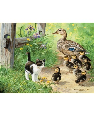 Puzzle SunsOut - Duck Inspector, 500 piese (Sunsout-51917)