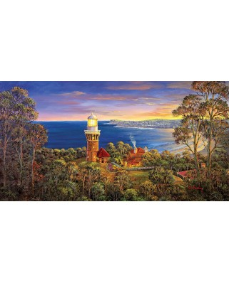 Puzzle panoramic SunsOut - Barrenjoy Light, 500 piese (Sunsout-52090)