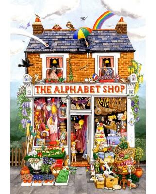 Puzzle SunsOut - The Alphabet Shop, 500 piese (Sunsout-52430)