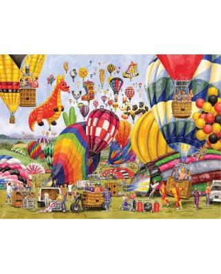 Puzzle SunsOut - Balloon Landing, 300 piese (Sunsout-52448)