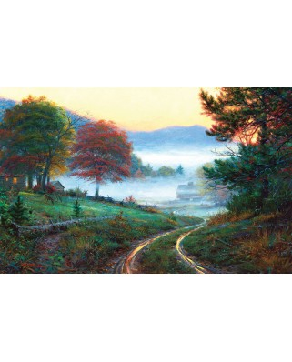 Puzzle SunsOut - Morning at Cades Cove, 300 piese (Sunsout-53053)