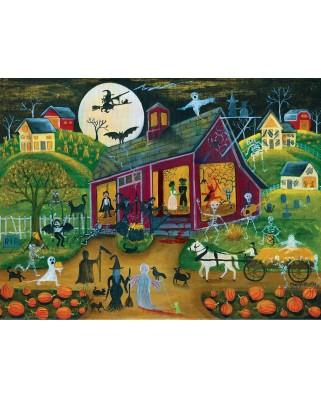 Puzzle SunsOut - Ho Down Barn Dance, 500 piese (Sunsout-54776)