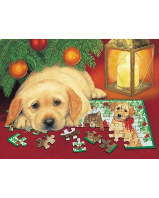 Puzzle SunsOut - A Puzzle for Christmas, 500 piese (Sunsout-59406)