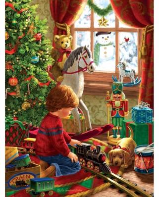 Puzzle SunsOut - Boyhood Christmas, 300 piese (Sunsout-59801)