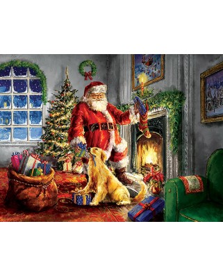 Puzzle SunsOut - Helping Santa, 300 piese (Sunsout-60620)