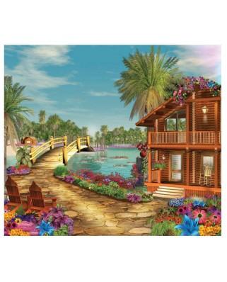 Puzzle SunsOut - Island Dreams, 300 piese (Sunsout-61559)
