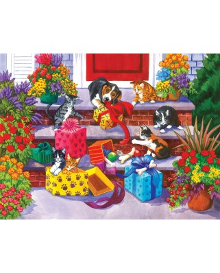 Puzzle SunsOut - Time for Toys and Treats, 300 piese (Sunsout-62913)