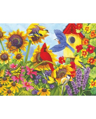Puzzle SunsOut - Backyard Beauties, 300 piese (Sunsout-62925)