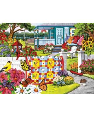Puzzle SunsOut - Serene Summer, 300 piese (Sunsout-62927)