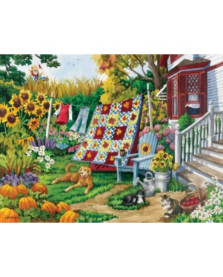 Puzzle SunsOut - Country Autumn, 500 piese (Sunsout-62937)